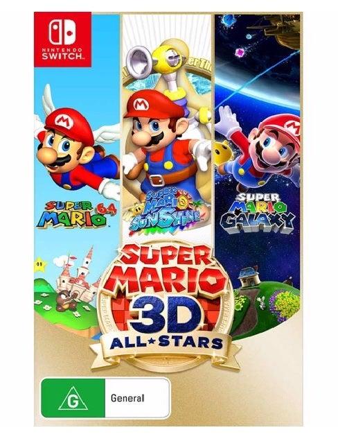 Nintendo Super Mario 3D All Stars Nintendo Switch Game