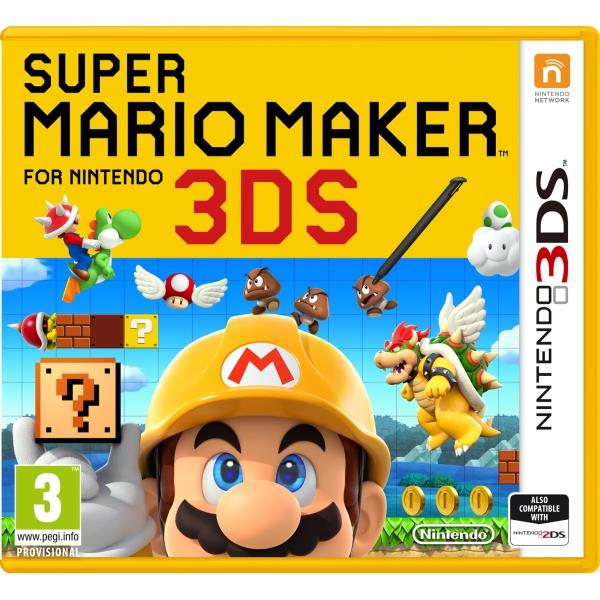 Nintendo Super Mario Maker Nintendo 3DS Game