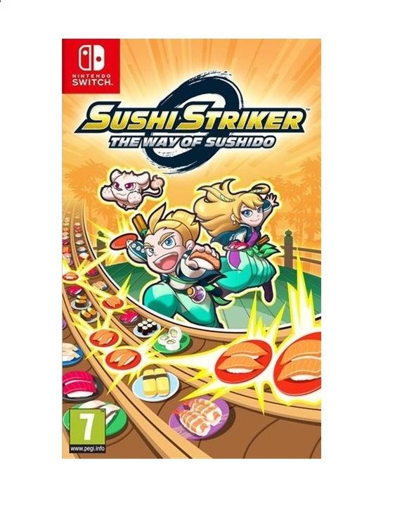 Nintendo Sushi Striker The Way of Sushido Nintendo Switch Game