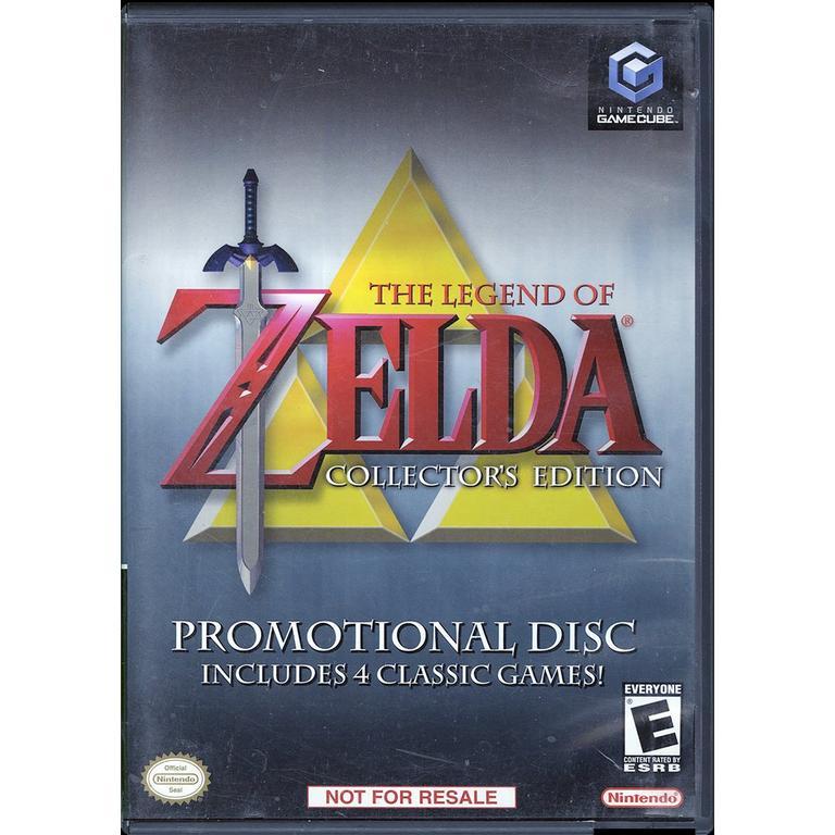 Nintendo The Legend Of Zelda Collectors Edition GameCube Game