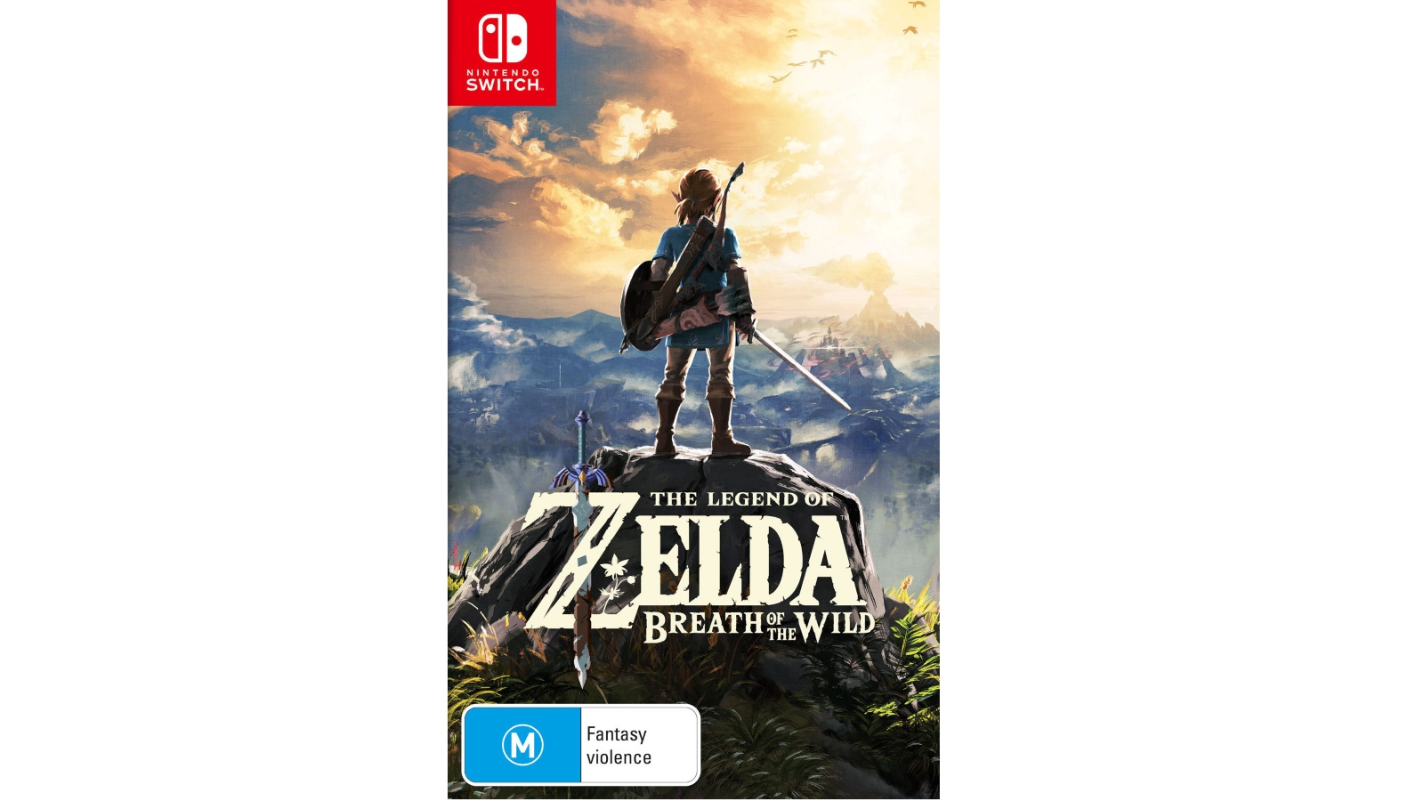 Nintendo The Legend of Zelda Breath of the Wild Nintendo Switch Game