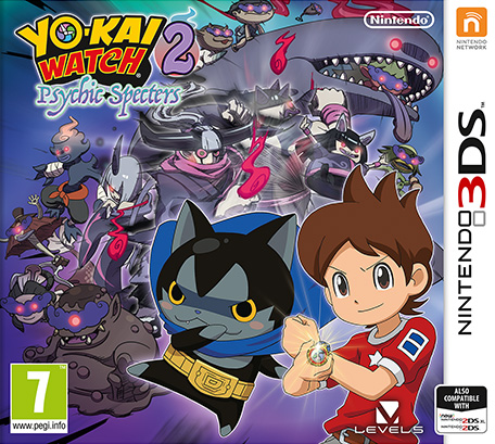 Nintendo Yokai Watch 2 Psychic Specters Nintendo 3DS Game