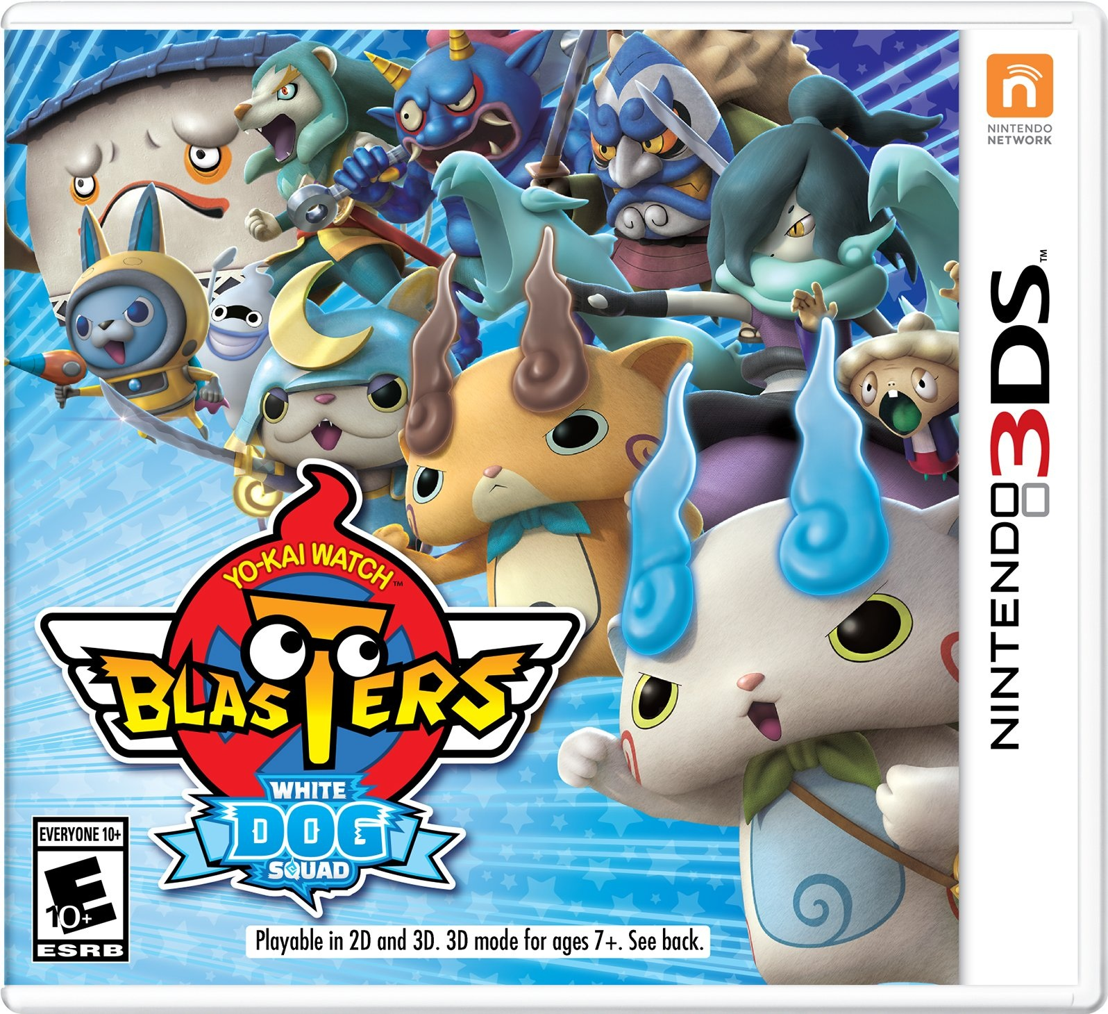 Nintendo Yokai Watch Blasters White Dog Squad Nintendo 3DS Game