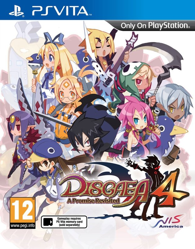 Nis Disgaea 4 A Promise Revisited PS Vita Game