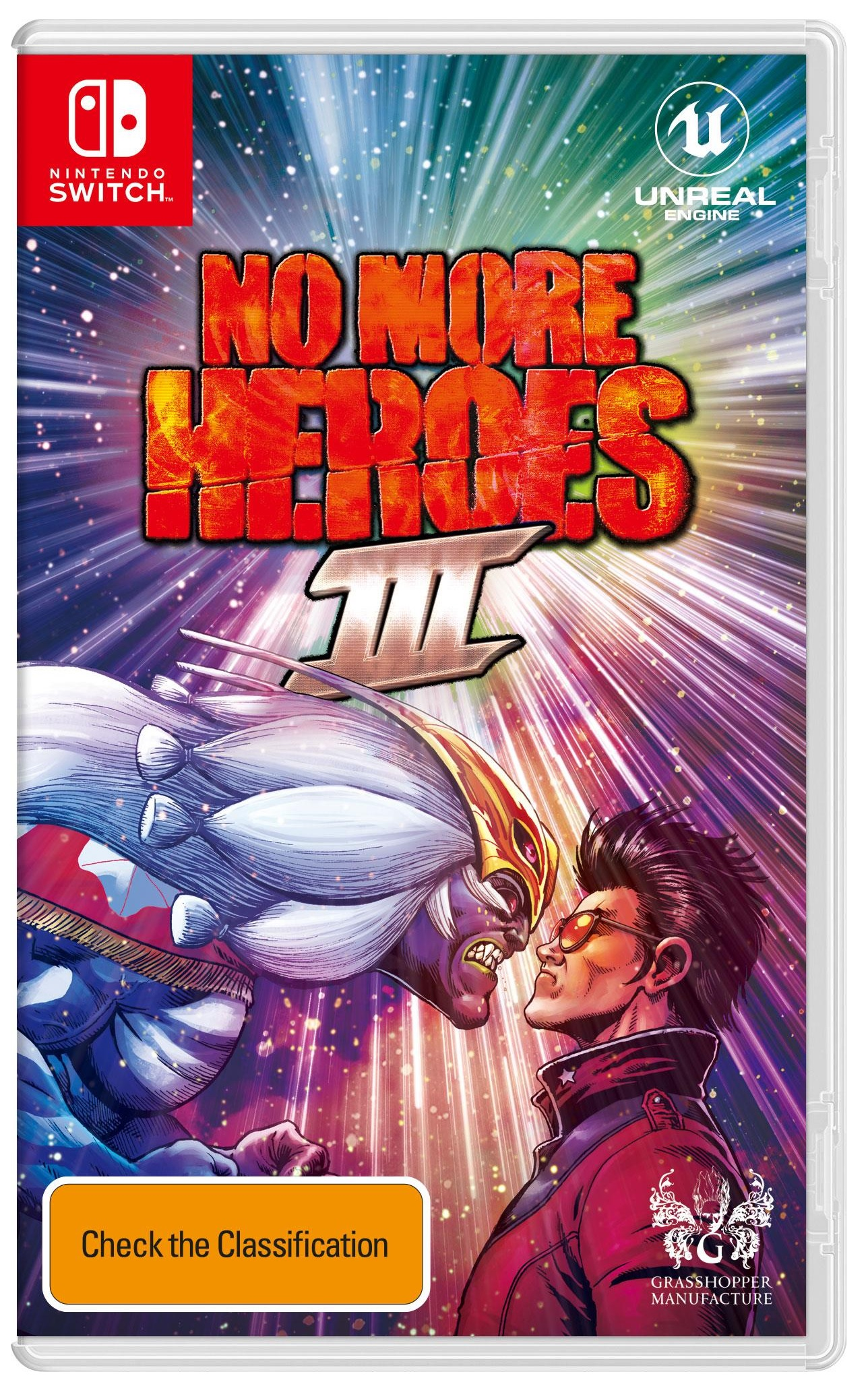 Marvelous No More Heroes 3 Nintendo Switch Game