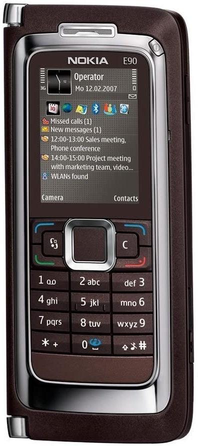 Nokia E90 3G Mobile Phone