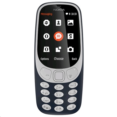 Nokia 3310 Dual 16GB Mobile Cell Phone