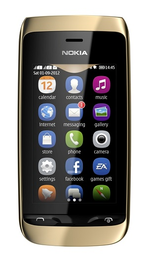 Nokia Asha 308 2G Mobile Phone