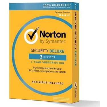 Symantec Norton Security Deluxe Security Software