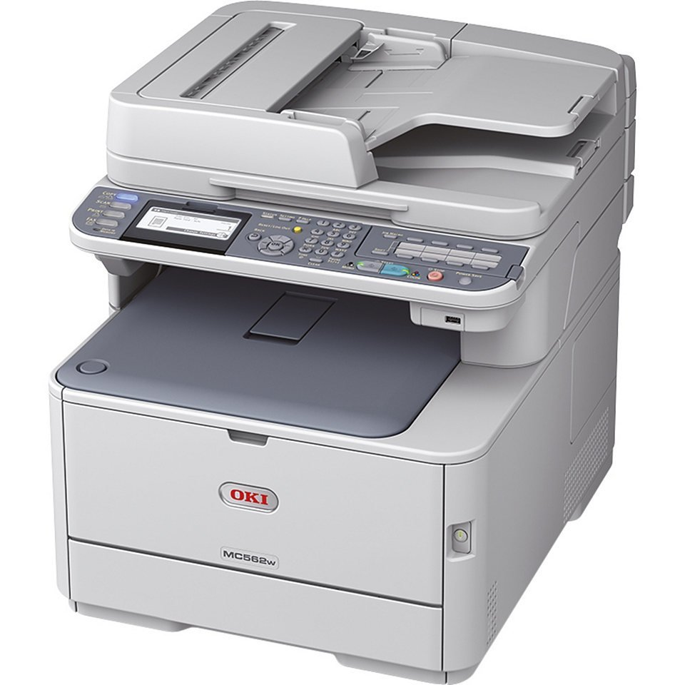 OKI MC562DNW Network Multifunction Colour Printers