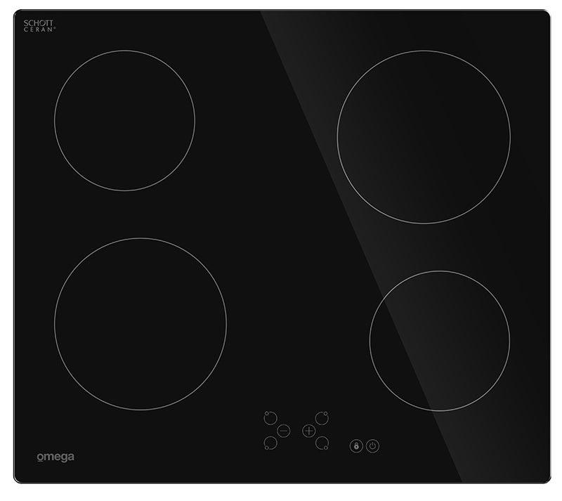 Omega OCC64TZTGG Ceramic Kitchen Cooktop