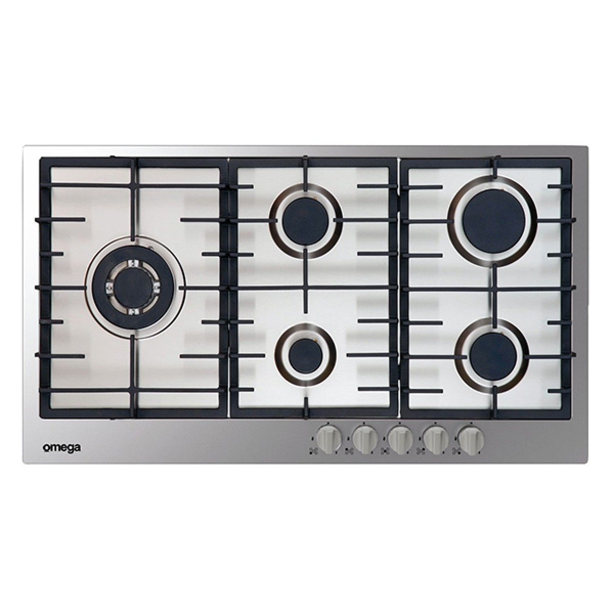 Omega OCG90FX Kitchen Cooktop