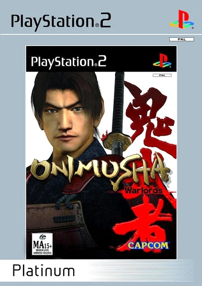 Capcom Onimusha Warlords Platinum Refurbished PS2 Playstation 2 Game