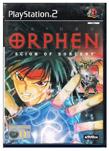 Activision Orphen Scion of Sorcery PS2 Playstation 2 Game