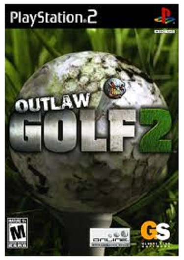 Global Star Outlaw Golf 2 PS2 Playstation 2 Game