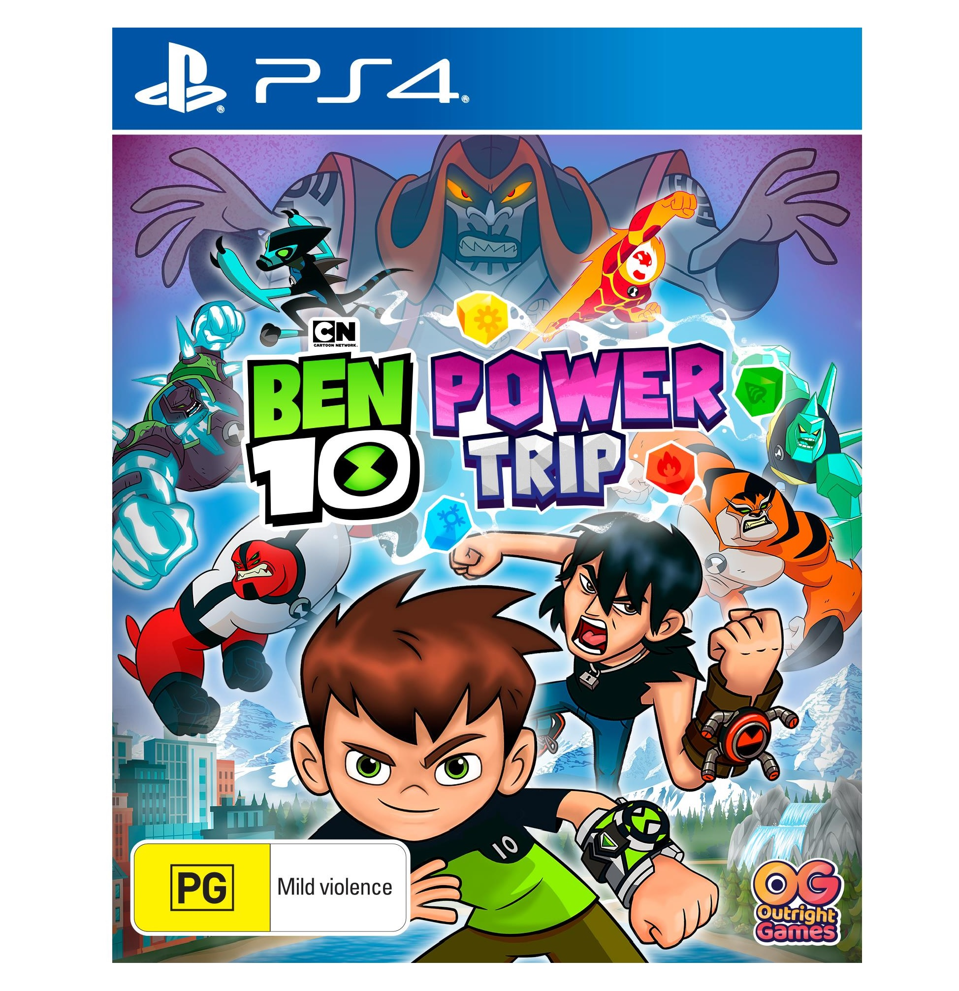Outright Games Ben 10 Power Trip PS4 Playstation 4 Game