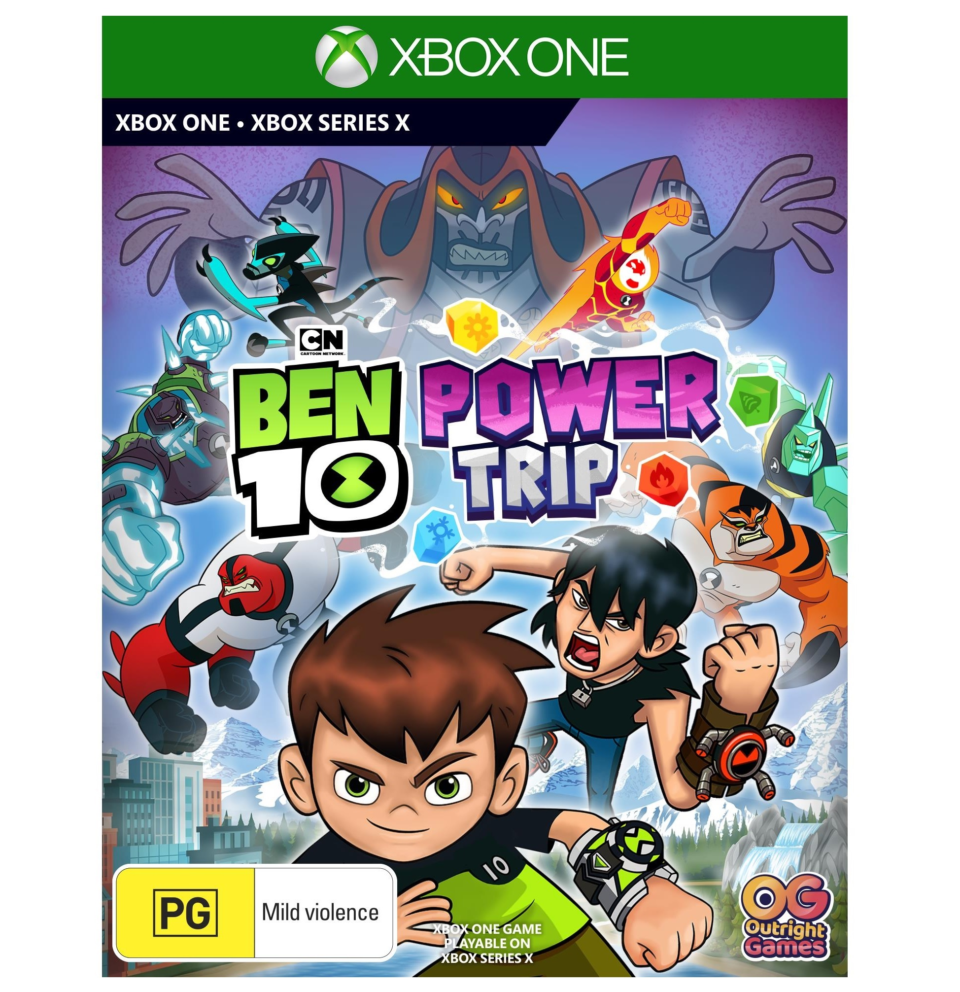 Outright Games Ben 10 Power Trip Xbox One Game