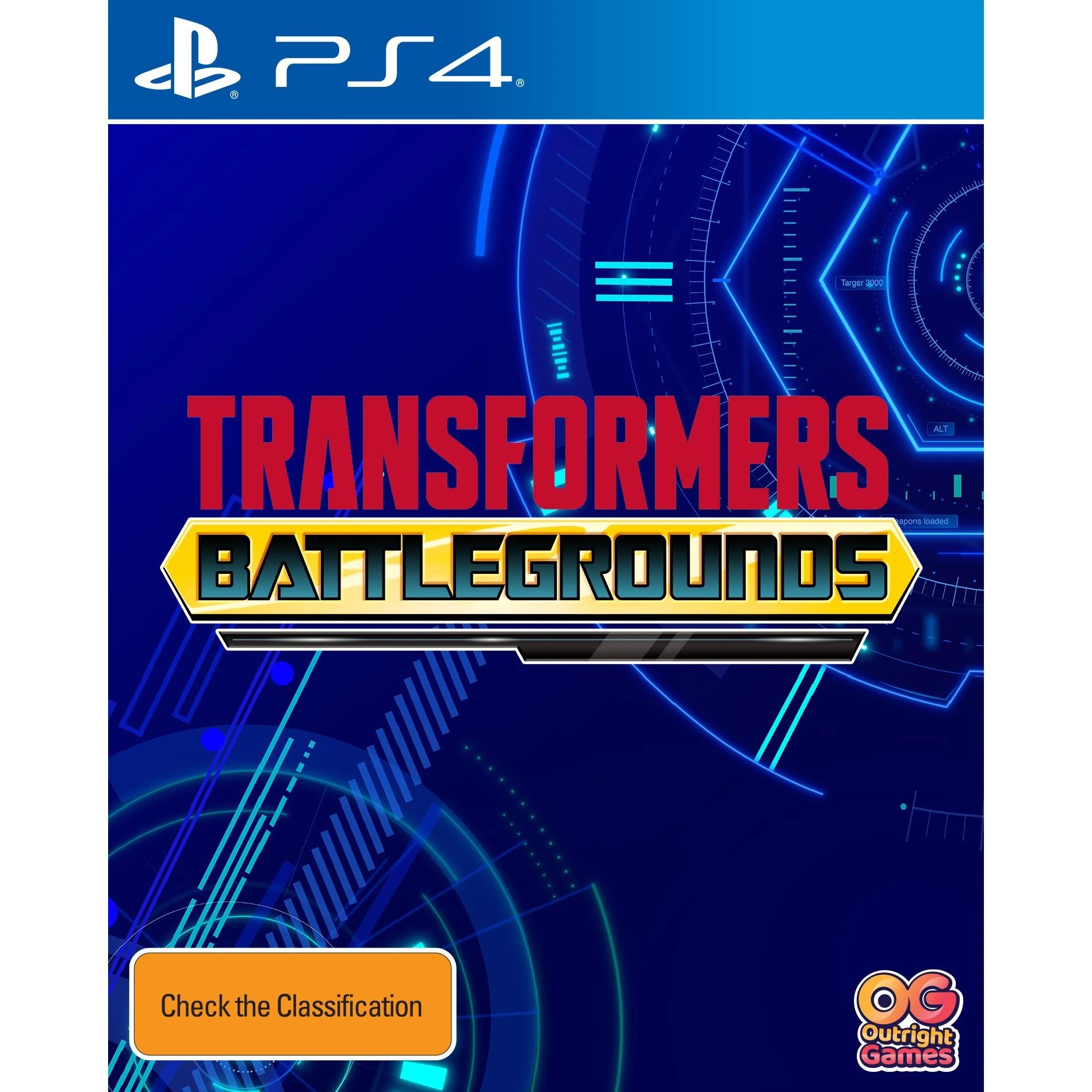 Outright Games Transformers Battlegrounds PS4 Playstation 4 Game