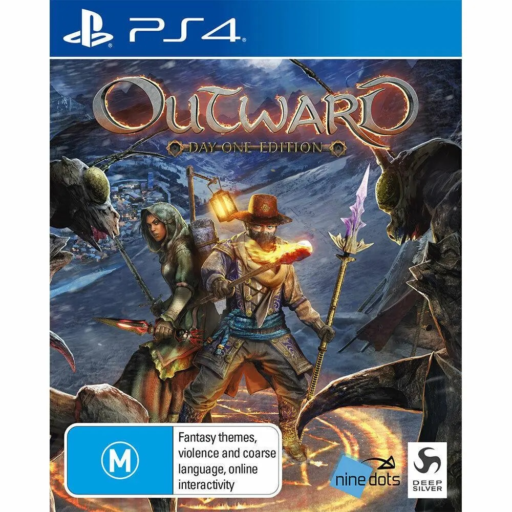 Deep Silver Outward Day One Edition Refurbished PS4 Playstation 4 Game
