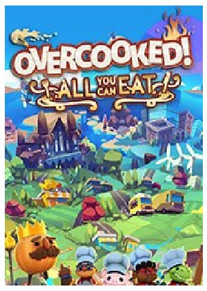 Team17 Software Overcooked All You Can Eat PC Game