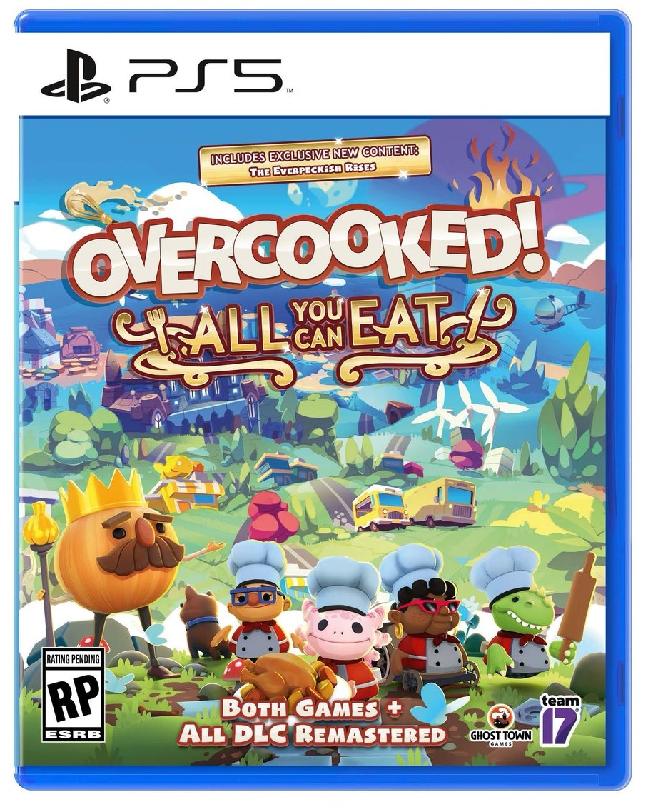 Team17 Software Overcooked All You Can Eat PS5 Playstation 5 Game