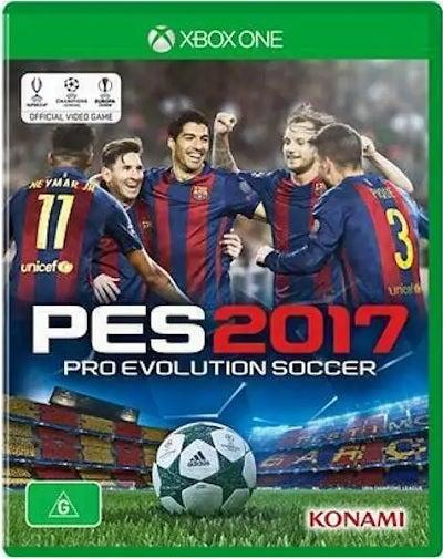 Konami PES 2017 Pro Evolution Soccer Refurbished Xbox One Game