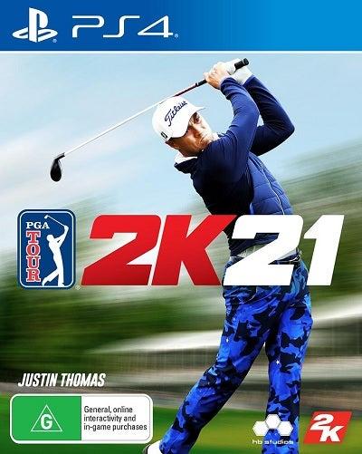 2K Sports PGA Tour 2K21 Refurbished PS4 Playstation 4 Game