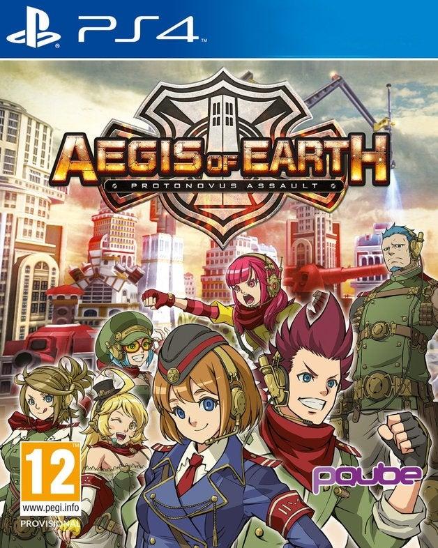 PQube Aegis of Earth Protonovus Assault PS4 Playstation 4 Game
