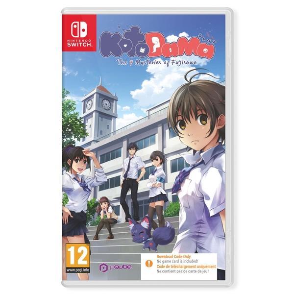 PQube Kotodama The 7 Mysteries Of Fujisawa Nintendo Switch Game