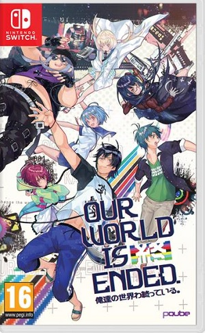 PQube Our World Is Ended Day One Edition Nintendo Switch Game