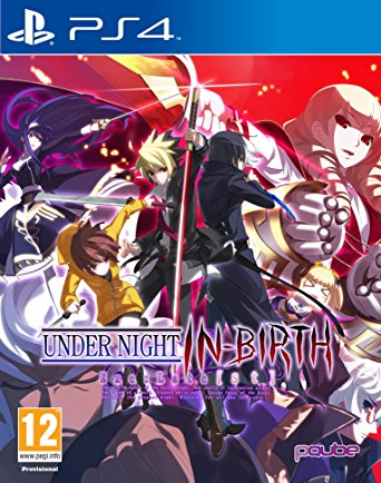 PQube Under Night In birth Exe late PS4 Playstation 4 Game