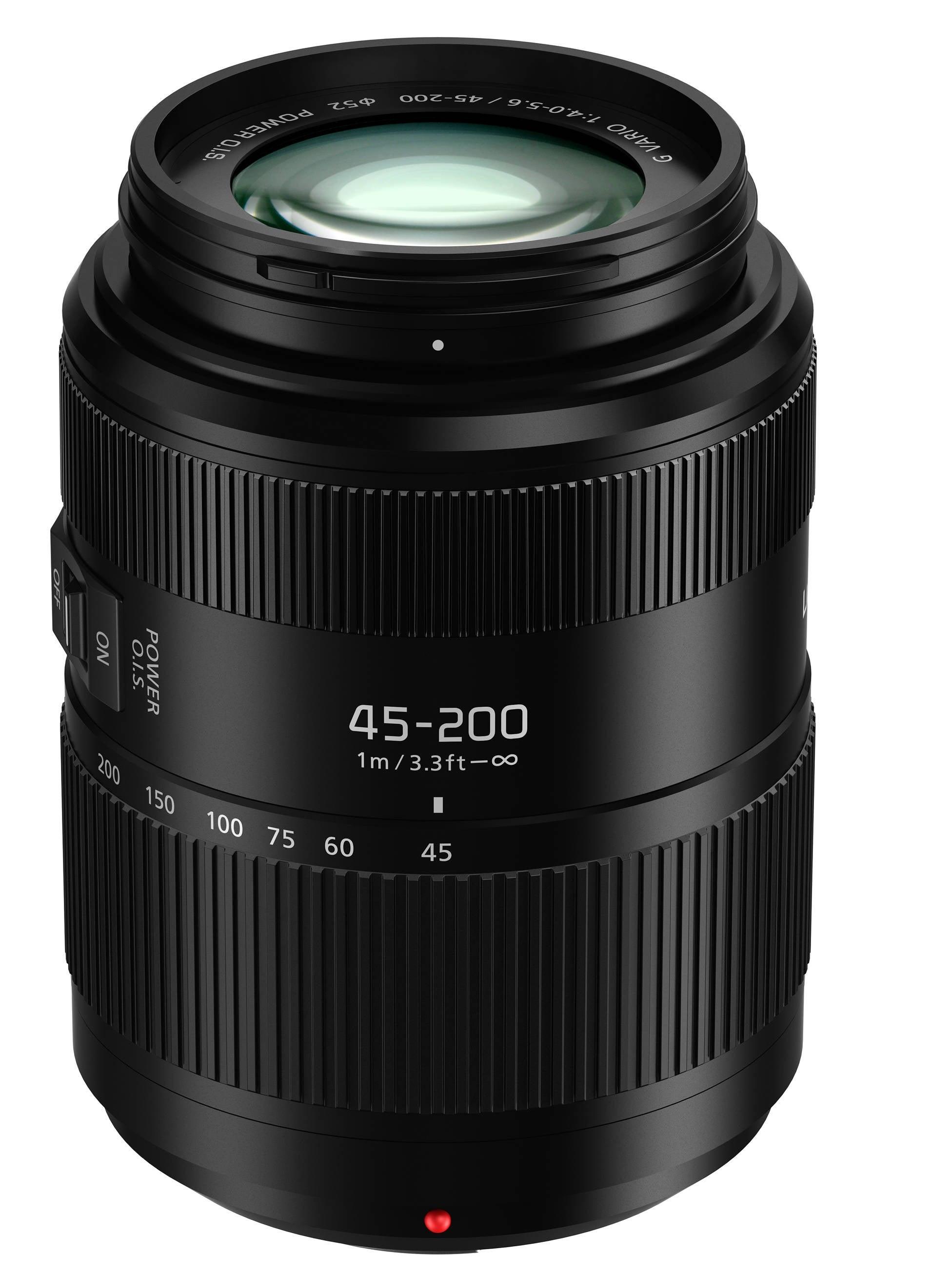 Panasonic 45-200mm F4.0-5.6 II Lumix G Vario Lens