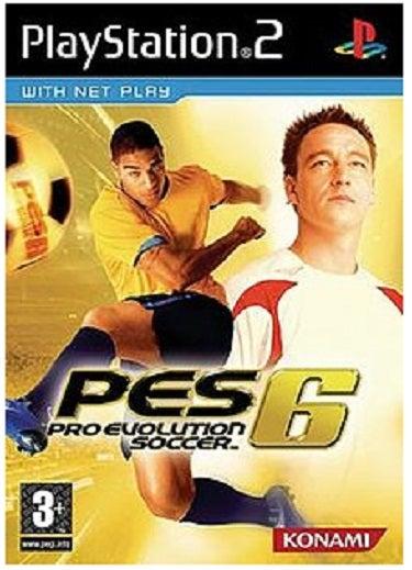 konami Pes Pro Evolution Soccer 6 PS2 Playstation 2 Game