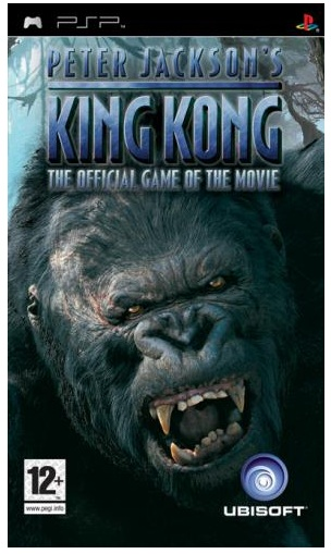 Ubisoft Peter Jacksons King Kong The Official Game Of The Movie PSP Game