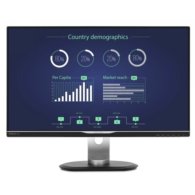 Philips 258B6QUEB 25inch LCD Monitor