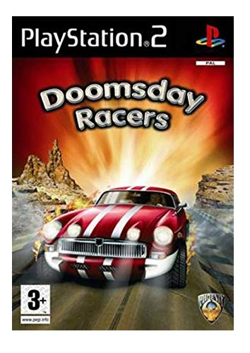 Phoenix Games Doomsday Racers PS2 Playstation 2 Game
