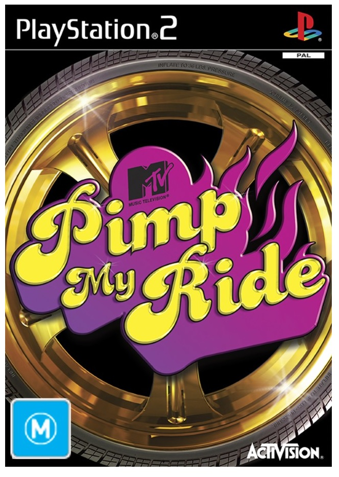 Activision Pimp My Ride Refurbished PS2 Playstation 2 Game
