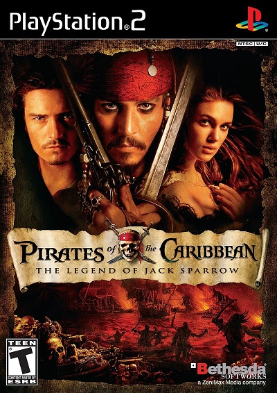 Bethesda Softworks Pirates Of The Caribbean The Legend Of Jack Sparrow Refurbished PS2 Playstation 2 Game