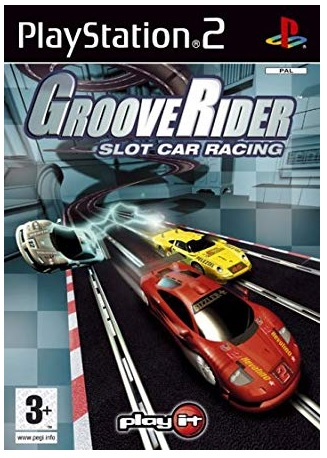 Play It Grooverider Slot Car Racing PS2 Playstation 2 Game