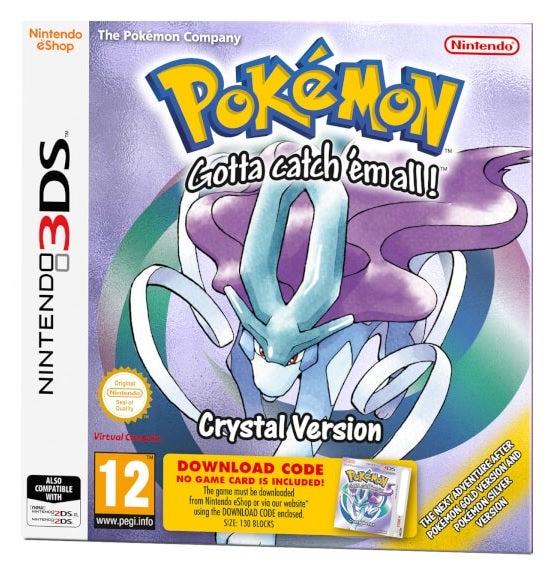 Nintendo Pokemon Gotta Catch Em All Crystal Version 3DS Game