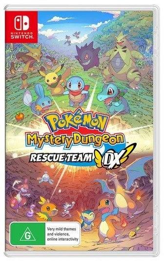 Nintendo Pokmon Mystery Dungeon Rescue Team DX Nintendo Switch Game