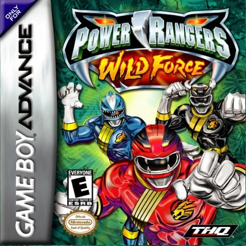 THQ Power Rangers Wild Force Refurbished GameBoy Game