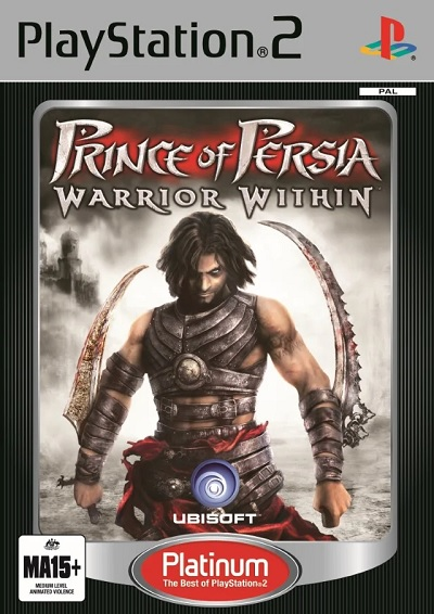 Ubisoft Prince Of Persia Warrior Within Platinum Refurbished PS2 Playstation 2 Game