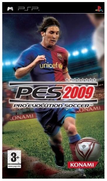 Konami Pro Evolution Soccer 2009 Refurbished PSP Game