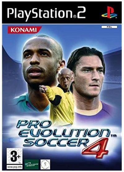 Konami Pro Evolution Soccer 4 Refurbished PS2 Playstation 2 Game