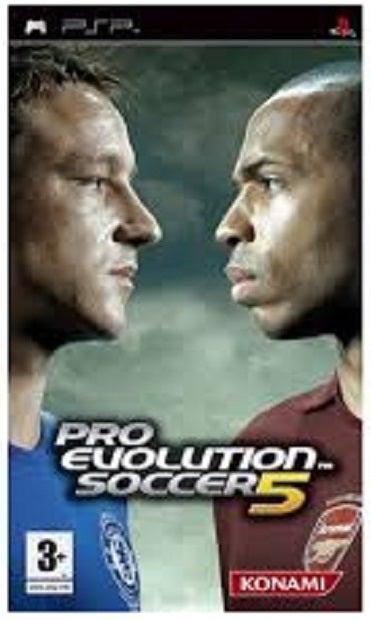 konami Pro Evolution Soccer 5 PSP Game
