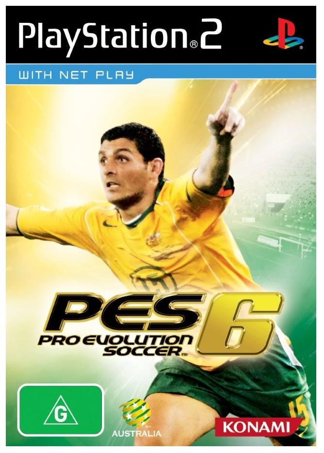 Konami Pro Evolution Soccer 6 Refurbished PS2 Playstation 2 Game
