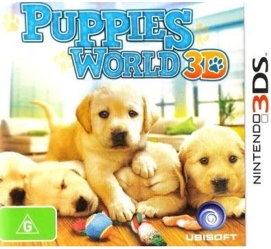 Ubisoft Puppies World 3D Refurbished Nintendo 3DS Game