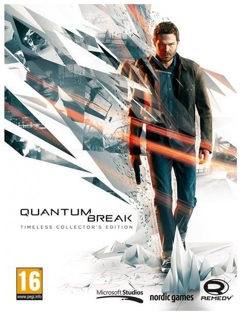 Microsoft Quantum Break Timeless Collectors Edition PC Game