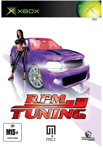 Wanadoo Edition RPM Tuning Xbox Game